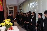 Cérémonies d'hommage à Lê Kha Phiêu à l'ONU, aux États-Unis et au Canada