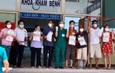 Dix nouveaux patients à Dà Nang annoncés guéris