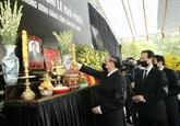 Les remerciements suite aux obsèques de l'ex-secrétaire général Lê Kha Phiêu