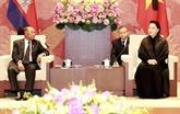 La présidente de l'AN vietnamienne rencontre son homologue cambodgien
