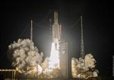 Kourou : lancement réussi pour la fusée Ariane 5