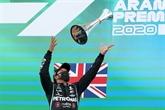 GP d'Espagne de F1 : Hamilton,
