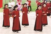 Phu Tho introduit le chant xoan dans les écoles