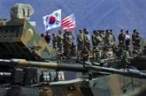 La République de Corée et les États-Unis débutent un exercice militaire conjoint