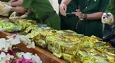 Nombre d'arrestations pour trafic de drogue transfrontalier