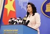 Le Vietnam réaffirme sa souveraineté sur Hoàng Sa et Truong Sa