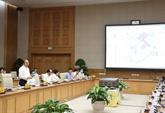 Le PM préside une séance de travail avec Hô Chi Minh-Ville