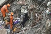 Effondrement d'un immeuble en Inde : au moins 16 morts