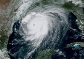 La Louisiane et le Texas dans l'attente de Laura, ouragan