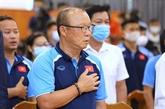 L'entraîneur sud-coréen Park Hang-seo à l'honneur