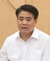 Le président du Comité populaire de Hanoï poursuivi et détenu
