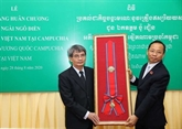 L'ancien ambassadeur du Vietnam au Cambodge à l'honneur
