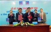 PVN : signature d'un contrat de projets de gaz-électricité-port de services