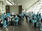 COVID-19 : 300 citoyens rapatriés du Canada et de la République de Corée