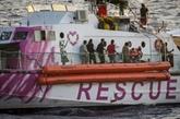 Navire de Banksy : les passagers