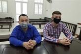 Un Vietnamien et un Écossais emprisonnés pour trafic de drogue