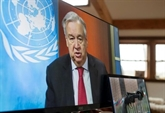 Le chef de l'ONU souhaite des
