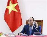 Les PM vietnamiens et japonais tiennent un entretien téléphonique