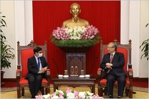 Le Vietnam souhaite renforcer son partenariat avec lInde
