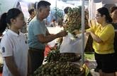 La promotion des exportations de longane vers le marché chinois