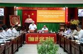 Coopération entre Soc Trang et ministère des AE dans l'économie et affaires extérieures