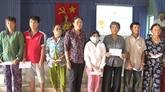 Aide pour les victime de l'agent orange/dioxine à Tiên Giang