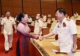 La présidente de l'AN salue les contributions de la police à la garantie de la sécurité