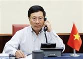 Vietnam - États-Unis : conversation téléphonique entre les chefs de la diplomatie