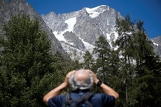 Un glacier du Mont Blanc sur le point de seffondrer en Italie