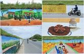 À Phuc Tho, les murs revêtent de nouvelles fresques