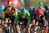 Tour de France : Ewan vainqueur d'un sprint chaud, très chaud