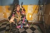 Avec la pandémie, les artistes du Rajasthan dansent en ligne