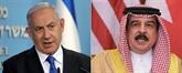 Bahreïn - Israël : normalisation des relations