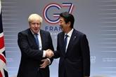 La Grande-Bretagne conclut son premier grand accord de libre-échange post-Brexit avec le Japon