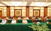 Nguyên Phu Trong demande de bien préparer le XIe Congrès du Parti de l'Armée
