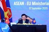 Conférences des ministres Affaires étrangères ASEAN - UE, ASEAN - Inde