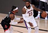 Play-offs NBA : les Lakers en finissent avec les Rockets