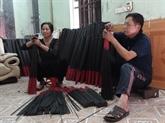 Les bâtonnets d'encens noirs du village de Choa