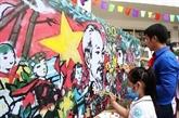 Lancement du concours de peinture sur la solidarité Vietnam - Cuba