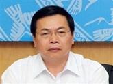 Inculpation de Vu Huy Hoàng, ancien ministre de l'Industrie et du Commerce