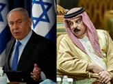Israël scelle son entente avec les Émirats et Bahreïn