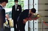 Japon : Abe et son cabinet démissionnent avant l'investiture de Suga