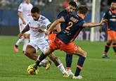 L1 : Lyon subit sa première défaite de la saison à Montpellier
