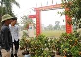 Les habitants de Dông Tâm unis pour construire la Nouvelle ruralité