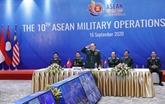 La 10e réunion des opérations militaires de l'ASEAN