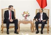 Le PM Nguyên Xuân Phuc reçoit le nouveau directeur national de la BAD
