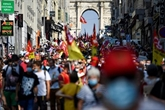 Rentrée syndicale avec des cortèges masqués dans plusieurs villes françaises