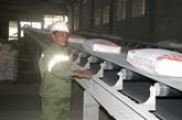 Huit mois : les exportations de ciment augmentent en volume et en valeur