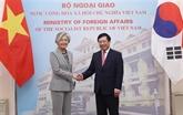 Vietnam - République de Corée : entretien entre les ministres des AE