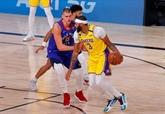 Play-offs NBA : Davis et les Lakers punissent les Nuggets d'entrée